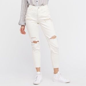 ✨Free People Lacey Stilt Embellished Skinny Jeans✨